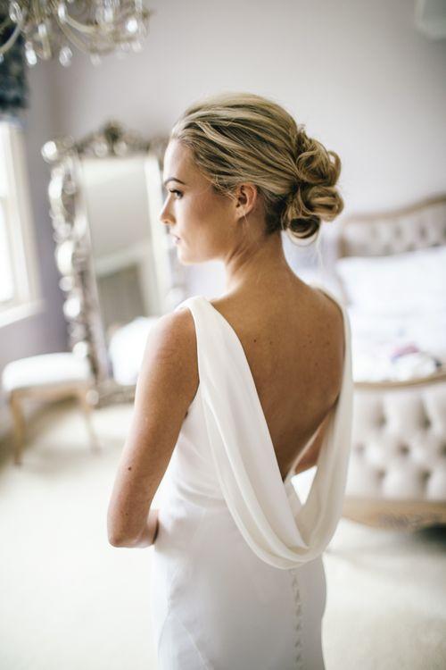 Bride wears Martina Liana from Angelica's bridal Islington | Kat Hill Wedding Photography