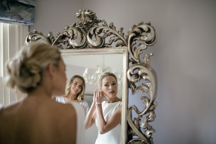 Bride wears Martina Liana from Angelica's bridal Islington | Kat Hill Wedding Photography