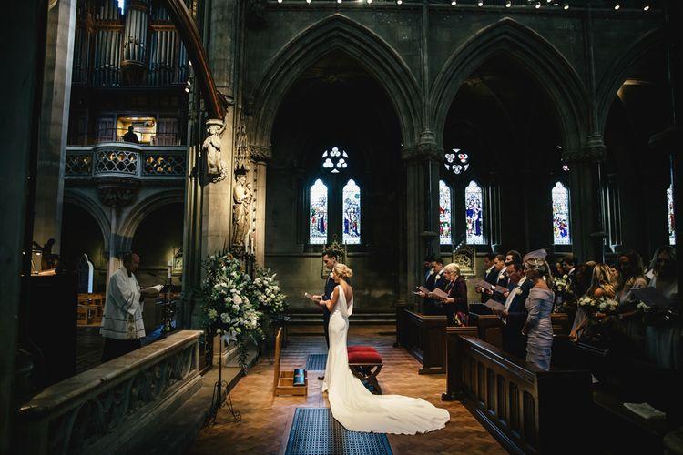 Beautiful church ceremony | Kat Hill Wedding Photography