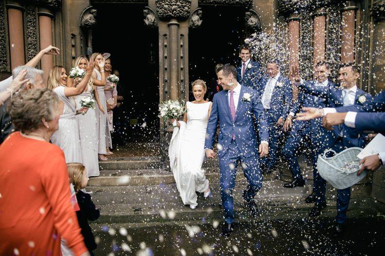 Confetti | Kat Hill Wedding Photography
