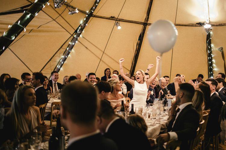 Speeches | Papakata Teepee Wedding | Kat Hill Wedding Photography