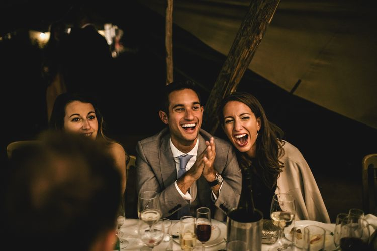 Reception in Papakata Teepee Wedding | Kat Hill Wedding Photography
