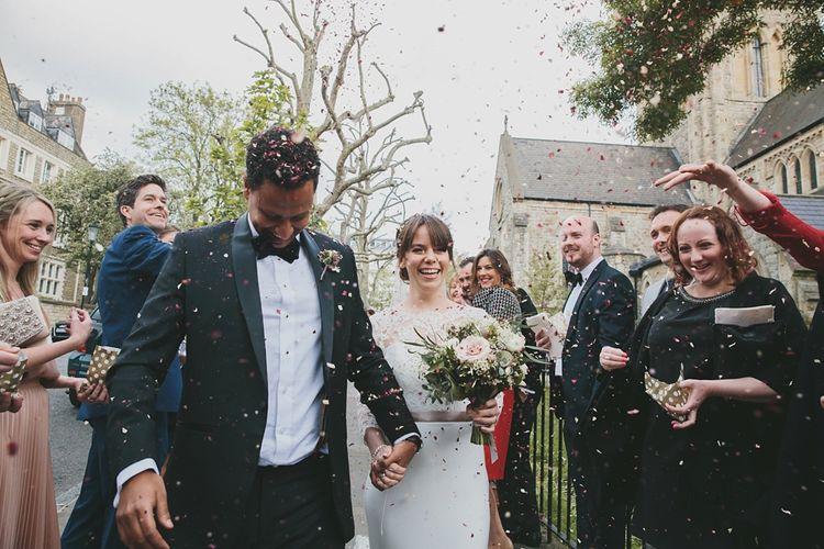 Confetti | St Johns in Notting Hill | Images by McKinley Rogers