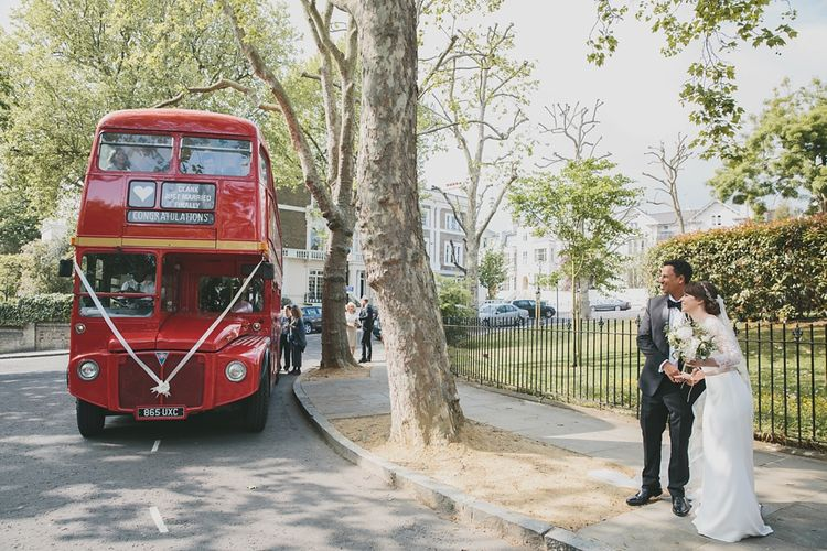 Transport to wedding reception | Brunswick House | Images by McKinley Rogers