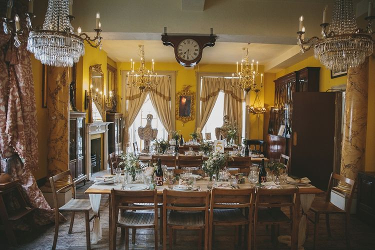 Wedding Reception | Brunswick House | Images by McKinley Rogers