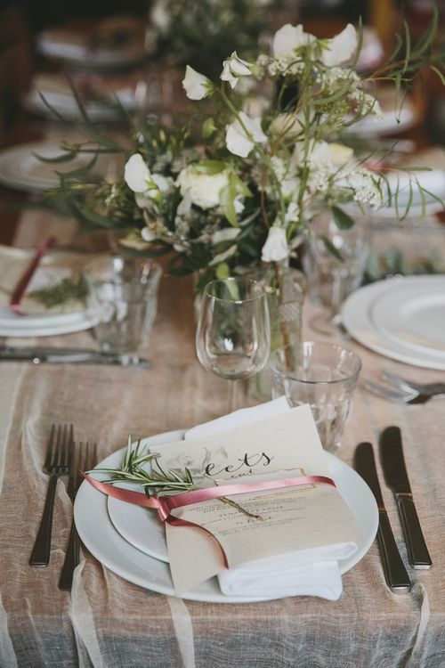 Table Decor | Wedding Reception | Brunswick House | Images by McKinley Rogers
