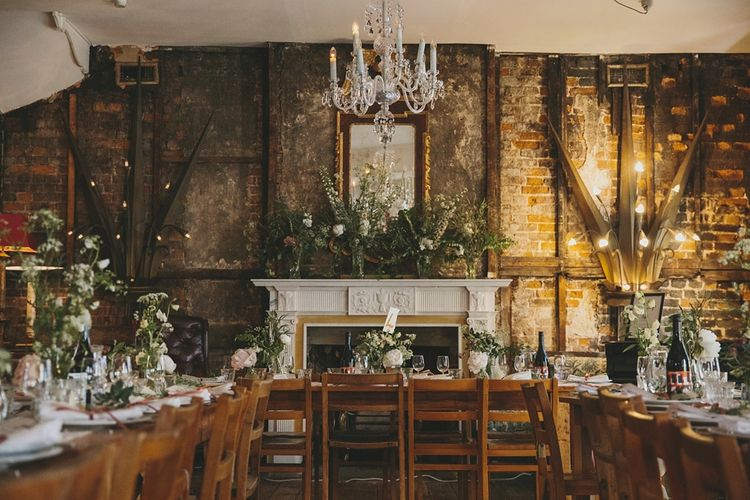 Decor | Wedding Reception | Brunswick House | Images by McKinley Rogers