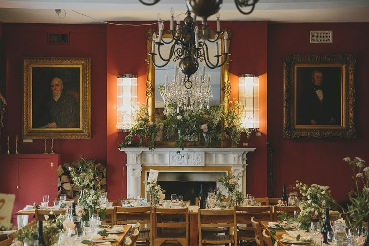 Florals by Scarlet and Violet, Notting Hill | Decor | Wedding Reception | Brunswick House | Images by McKinley Rogers