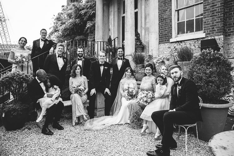 Group shot | Wedding Reception | Brunswick House | Images by McKinley Rogers
