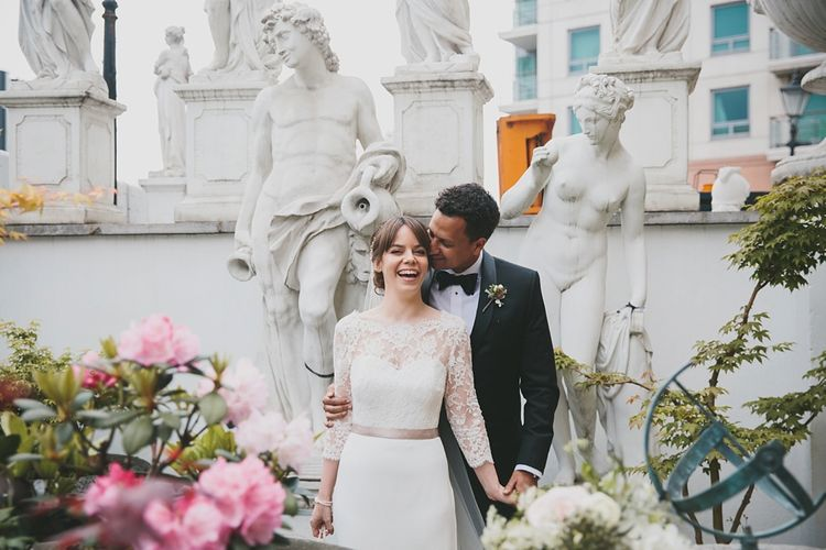 Couple shot | Wedding Reception | Brunswick House | Images by McKinley Rogers