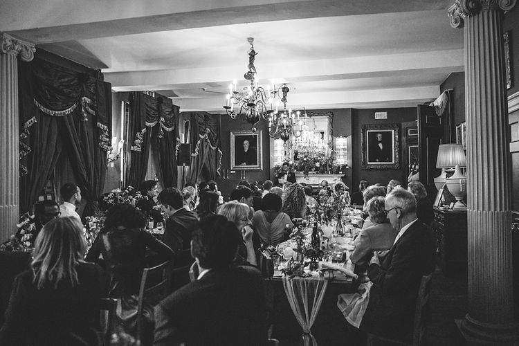 Speeches | Wedding Reception | Brunswick House | Images by McKinley Rogers