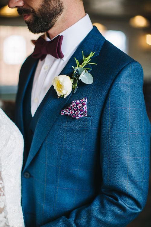 Liberty Print Pocket Square | S6 Photography