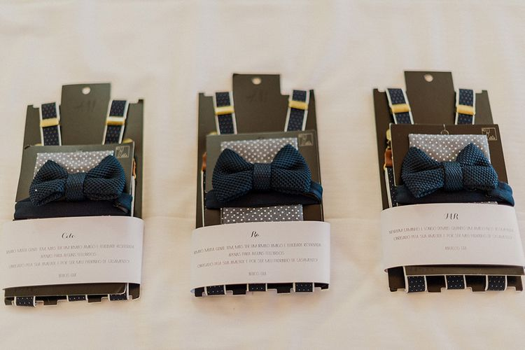 Bow Ties & Braces | Intimate Destination, Family Wedding Planned by The Knot in Italy Weddings at Castello Il Palagio , Italy | Linda Nari Photography