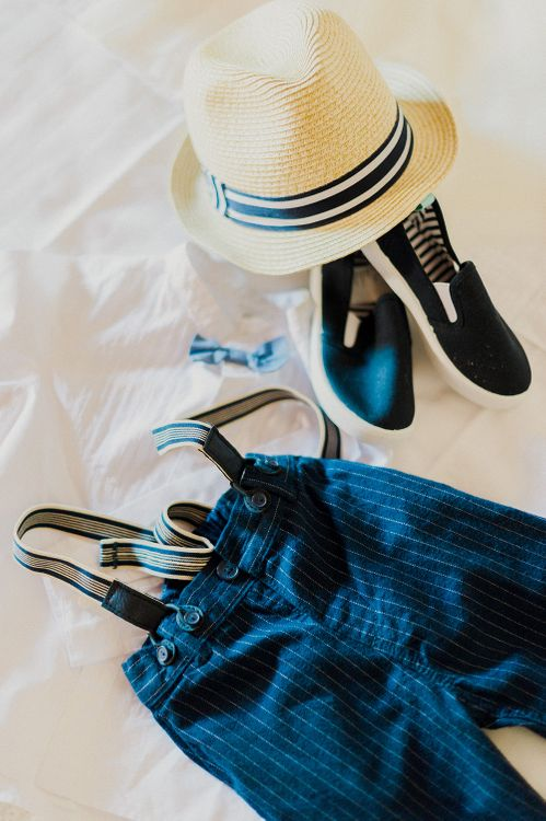 Page Boy Outfit | Intimate Destination, Family Wedding Planned by The Knot in Italy Weddings at Castello Il Palagio , Italy | Linda Nari Photography