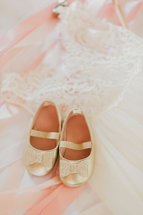 Flower Girl Outfit | Intimate Destination, Family Wedding Planned by The Knot in Italy Weddings at Castello Il Palagio , Italy | Linda Nari Photography