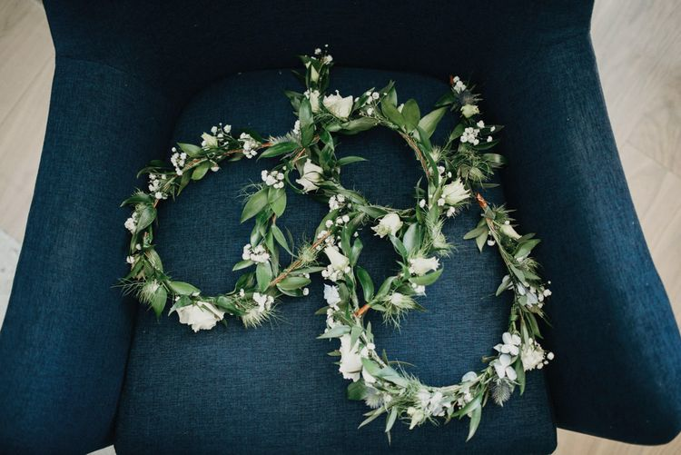 White Flower Crowns | Jere Satamo Photography
