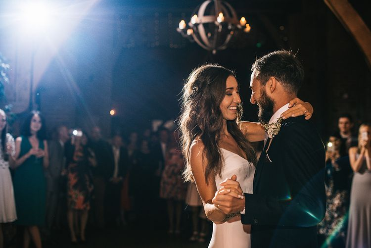 First Dance | Bride in Martina Liana Bridal Gown from Coco and Kate | Groom in Reiss Bespoke Tailoring Suit | Alex Tenters Photography