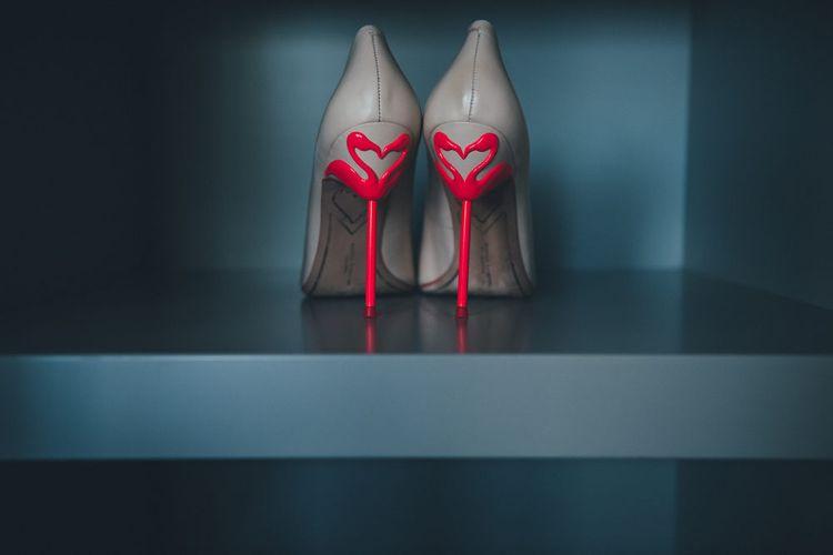 Sophia Webster Flamingo Heels