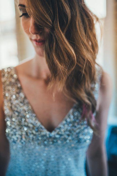 Wavy Locks Wedding Hair