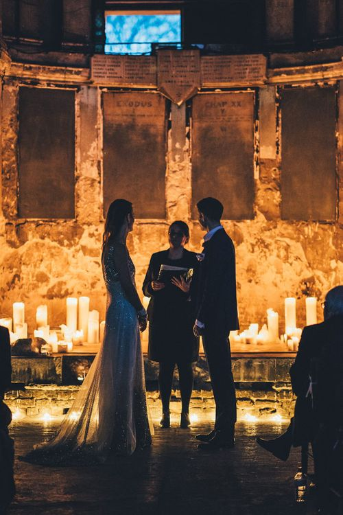 Candle Light Wedding Ceremony