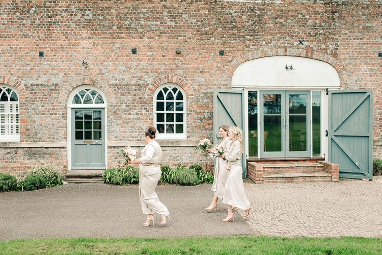 Elegant Wedding At Wasing Park With Bride In Embellished Temperley Bridal Gown With Fine Art Images From Grace And Blush Film By Mrs Mashup