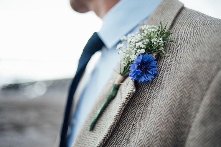 Rustic Buttonhole For Wedding