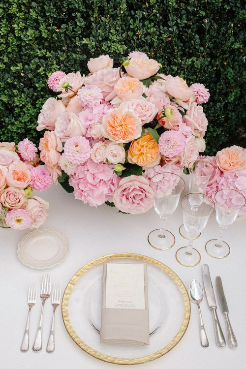 Beautiful Place Setting Inspiration For Your Wedding Day