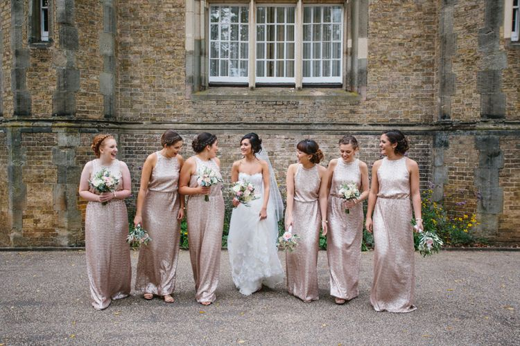 Bridesmaids In Sequins
