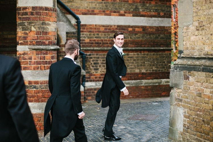 Groom Arriving At Ceremony