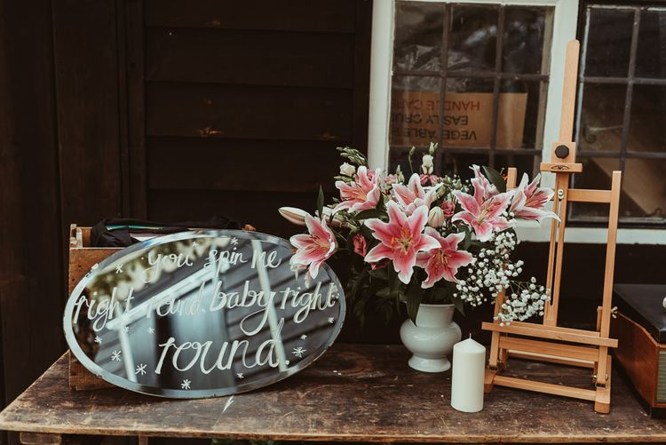 Wedding Decor | DIY At Home Marquee Reception | Jess Soper Photography