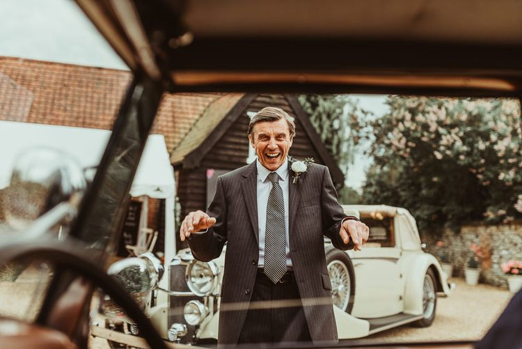 Father of The Bride | DIY At Home Marquee Reception | Jess Soper Photography