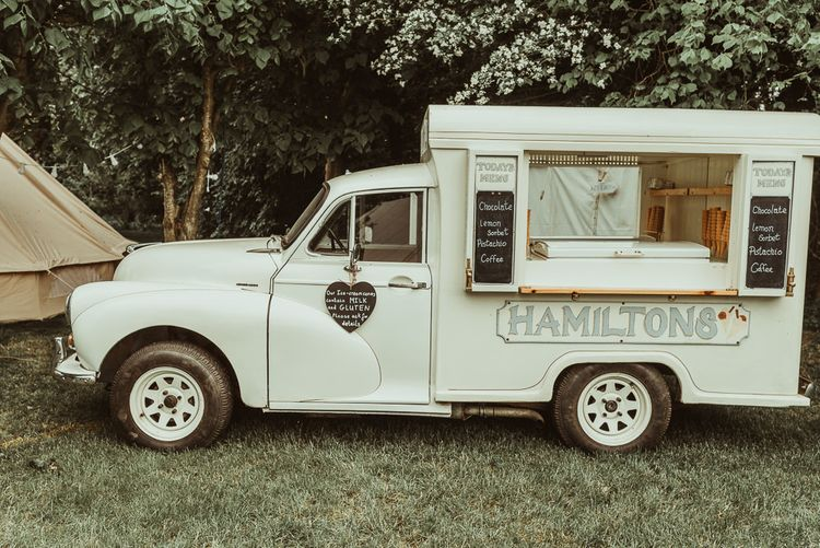 Food Truck | DIY At Home Marquee Reception | Jess Soper Photography