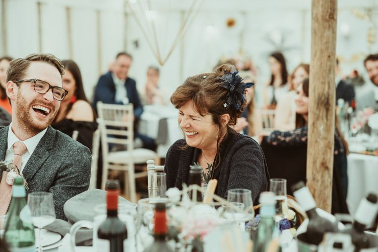 DIY At Home Marquee Reception | Jess Soper Photography