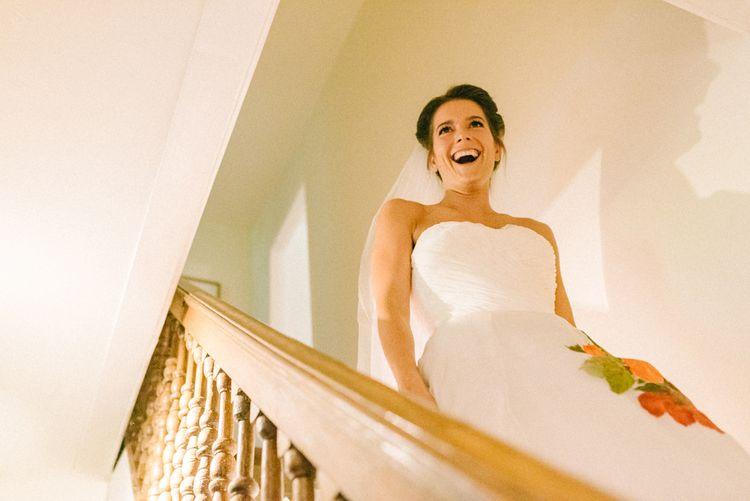 Bride in Alan Hannah