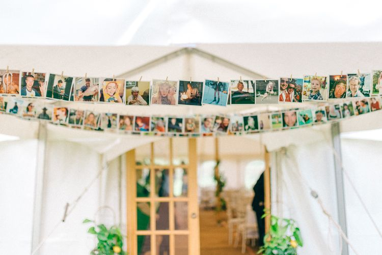 Polaroids Of Guests