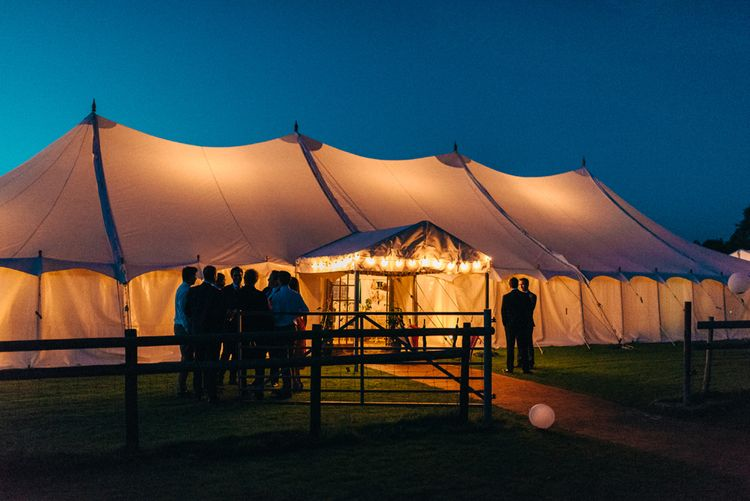 Marquee At Dusk