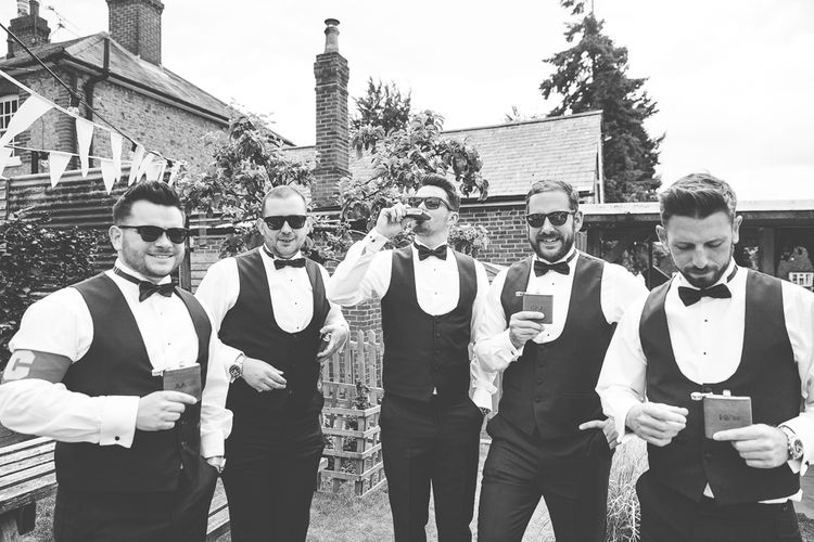 Groom & Groomsmen In Bowties
