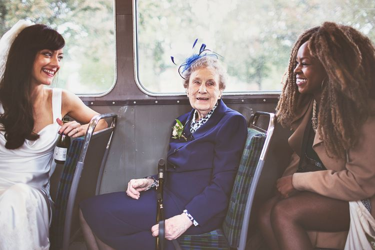 Bus Wedding Transport