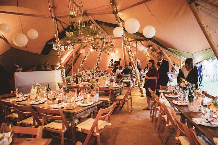 Rustic Tipi Reception | Maryanne Weddings Photography