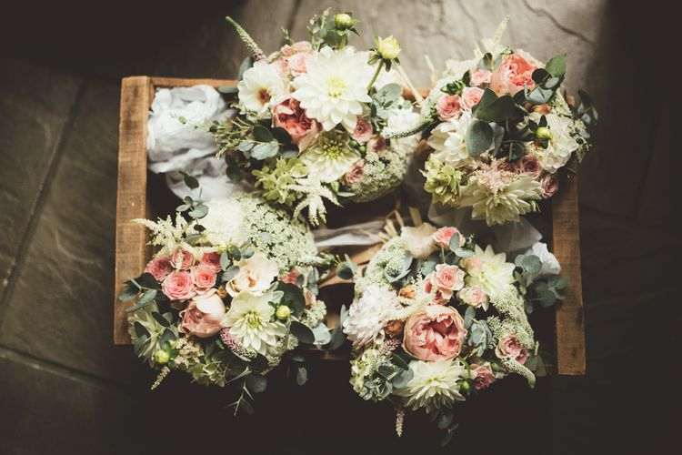 Blush Wedding Bouquets | Maryanne Weddings Photography