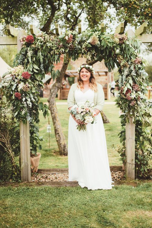 Bride in Something Old Something New Bridal Gown | Maryanne Weddings Photography
