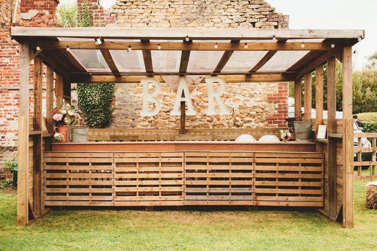 Wooden Bar | Maryanne Weddings Photography