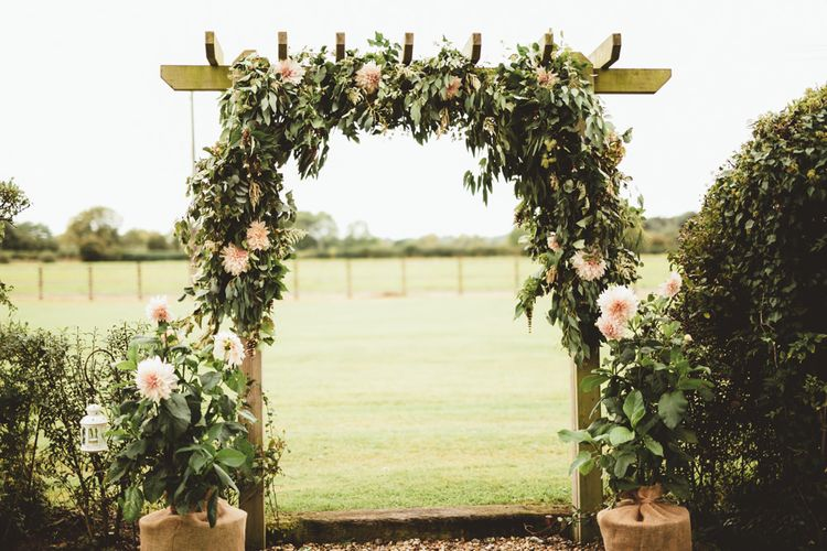 Floral Arch | Maryanne Weddings Photography