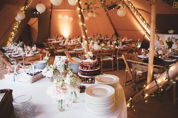 Cake Table | Maryanne Weddings Photography