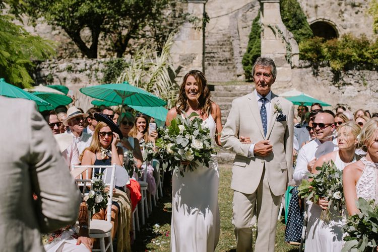 Relaxed Intimate Wedding At Chateau De Lisse France With Bride In Delphine Manivet From The Mews Bridal With Images From McGivern Photography