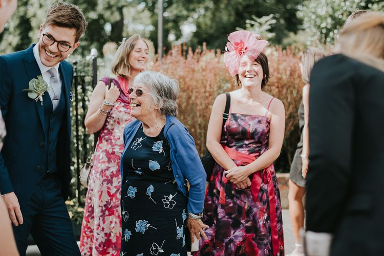 Wedding Guests | Botanical Orangery Wedding at Horniman Museum & Gardens, London | Fern Edwards Photography