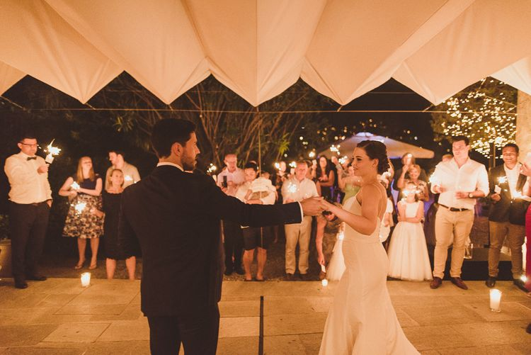 First Dance | Outdoor Destination Wedding at Villa Regina Teodolinda, Lake Como, Italy | Matt Penberthy Photography