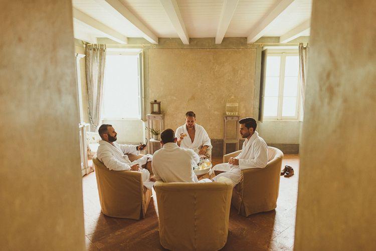 Getting Ready | Outdoor Destination Wedding at Villa Regina Teodolinda, Lake Como, Italy | Matt Penberthy Photography