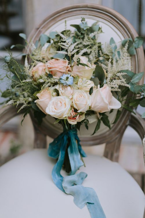 Pastel Bridal Bouquet by A Very Beloved Bloom