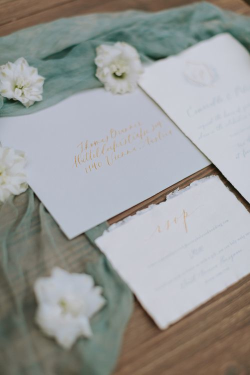 Wedding Stationery by Plume Calligraphy